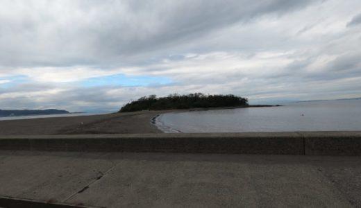 千葉県の日帰りドライブ 歩いて渡れる沖ノ島の無人島探索